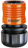 """Соединитель для шланга Claber 3/4"""" / 8609 -"""