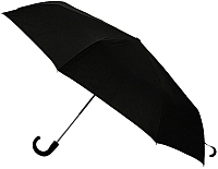 Зонт складной Ame Yoke ОК58-НВ (черный) -
