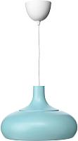 Потолочный светильник Ikea Вэкше 703.631.39 (синий) -