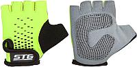Перчатки велосипедные STG AL-03-511 / Х74367-М (M, зеленый/черный) -