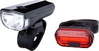 Набор фонарей для велосипеда STG JY7024+6068T / Х81489 -