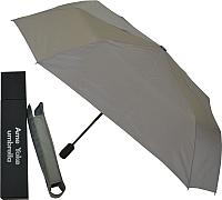 Зонт складной Ame Yoke ОК60-В (серый) -