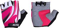 Перчатки велосипедные STG Х61901-М1 (M, красный) -