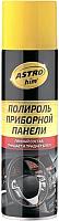 Полироль для пластика ASTROhim Для приборной панели с ароматом лимона / Ас-2335 (335мл) -