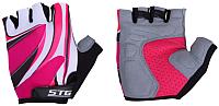 Перчатки велосипедные STG Х61901-С (S, красный) -