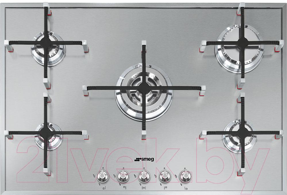 Купить Газовая варочная панель Smeg, PX7502, Италия