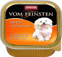 Корм для собак Animonda Vom Feinsten Adult с мясом домашней птицы и телятиной (150г) -