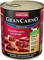 Корм для собак Animonda GranCarno Original мясной коктейль (800г) -