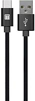 Кабель MediaGadget U-TC12 (черный) -