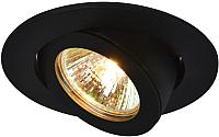 Точечный светильник Arte Lamp Accento A4009PL-1BK -