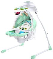 Качели для новорожденных Caretero Bugies (мятный) -