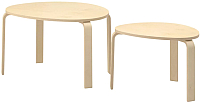 Комплект журнальных столиков Ikea Свальста 803.832.74 -