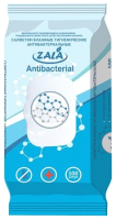 Влажные салфетки ZALA Joy гигиенические антибактериальные с клапаном (100шт) -