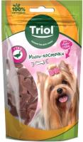Лакомство для собак Triol Мини-косточки из утки для мини-собак / 10171033 (50г) -