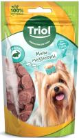 Лакомство для собак Triol Мини-медальоны из кролика для мини-собак / 10171032 (50г) -