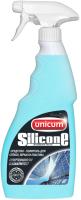 Средство для мытья окон Unicum Silicone для мытья зеркал, стекла и пластика (500мл) -