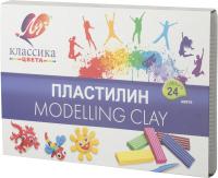 Пластилин ЛУЧ Классика / 28С 1642-08 (24цв) -