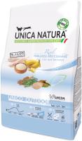 Корм для кошек Gheda Petfood Unica Natura Outdoor треска, рис, банан (1.5кг) -