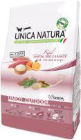 Корм для кошек Gheda Petfood Unica Natura Outdoor утка, рис, апельсин (1.5кг) -