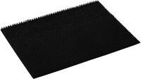 Коврик грязезащитный VORTEX Травка 60x90 / 24106 (черный) -