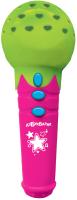 Музыкальная игрушка Азбукварик Микрофончик с огоньками Песенки-чудесенки / 2554А (зеленый) -