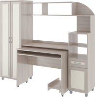 Комплект мебели для кабинета Rinner Пятерочка (шимо светлый) -
