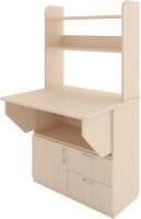 Письменный стол Rinner Д+Я (дуб млечный) -