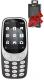 Мобильный телефон Nokia 3310 Dual Sim + наушники-гарнитура Ritmix RH-400BT (черный) -