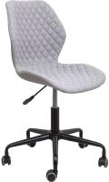 Кресло офисное Седия Delfin (светло-серый) -