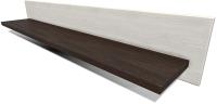 Полка Интерлиния Тауэр ТР-П120 (вудлайн кремовый/дуб венге) -