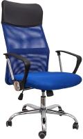 Кресло офисное Седия Aria New Eco (черный/синий) -