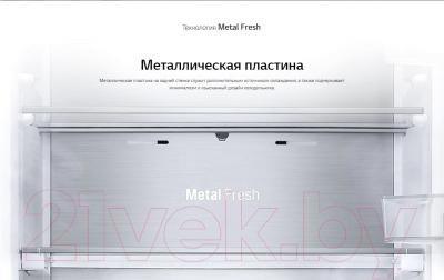 Холодильник с морозильником LG DoorCooling+  GA-B509CBTL