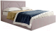 Каркас кровати Мебельград Сиеста Стандарт 140x200 (альба розовый) -