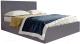 Каркас кровати Мебельград Сиеста Стандарт 180x200 (альба темно-серый) -
