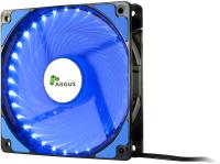 Кулер для корпуса Inter-Tech Argus L-12025 BL LED 120mm (синий) -