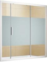 Стеклянная шторка для ванны Aquanet Practic 150 / 243611 (прозрачное стекло) -