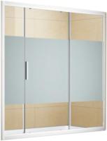 Стеклянная шторка для ванны Aquanet Practic 160 / AE10-B-160H150U-CP (прозрачное стекло) -