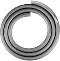Шланг для кальяна Hoob Силиконовый / AHR01205 (матовый серебристый) -