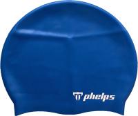 Шапочка для плавания Phelps Classic Silicone SA131EU4040 (синий) -