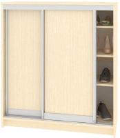 Шкаф для обуви Кортекс мебель Сенатор ШК41 Классика ДСП (венге светлый) -