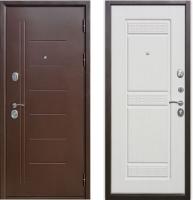 Входная дверь Юркас Гарда Троя Белый ясень (96х205, правая) -