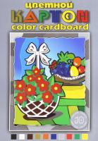Набор цветного картона Лилия Холдинг Натюрморт НКЦ 203/3 (10л) -