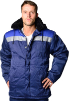 Куртка рабочая ТД Артекс Бригадир (р-р 56-58/170-176, синий/василек) -