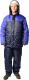 Комплект рабочей одежды ТД Артекс Балтика утепленный (р-р 48-50/170-176, Оксфорд, синий/василек) -