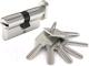 Цилиндровый механизм замка Dorma CBR-1 90 50x40В (никель) -