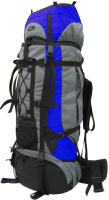 Рюкзак туристический Турлан Алтай-60 (васильковый/серый/черный) -