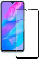 Защитное стекло для телефона Volare Rosso Full Glue для Huawei Y6p/Honor 9A (черный) -