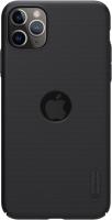 Чехол-накладка Nillkin Super Frosted Shield для iPhone 11 Pro М (черный) -