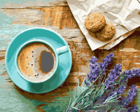 Картина по номерам Picasso Утренний кофе (PC4050409) -