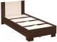 Односпальная кровать Империал Аврора 90 (венге/дуб молочный) -